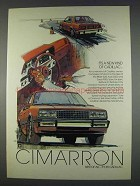 1982 Cadillac Cimarron Ad - It's a New Kind