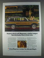 1982 Jeep Wagoneer Limited Ad - Never Driven One