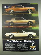 1982 Buick Riviera, Riviera T Type & Convertible Ad