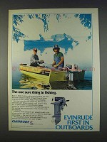 1982 Evinrude Outboard Motors Ad - One Sure Thing