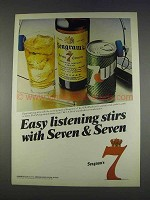 1982 Seagram's Seven Crown Whiskey Ad - Easy Listening
