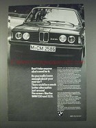 1982 BMW 323i Car Ad - Don't Take Word For It