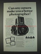 1982 Hasselblad Cameras Ad - Make Better Photographer