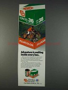 1982 Fuji Fujicolor Film Ad - Inside Every Box