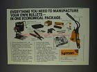 1982 Lyman Master Kit Ad - Manufacture Your Own Bullets