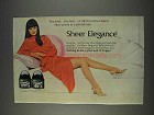 1982 L'eggs Sheer Elegance Pantyhose Ad