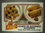 1982 Nabisco Shredded Wheat Ad - Honest-to-Goodness