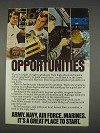 1982 U.S. Armed Forces Ad - Opportunities