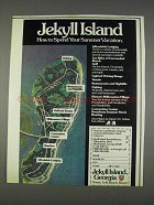 1982 Jekyll Island Georgia Ad - Your Summer Vacation