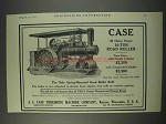 1910 Case 36 Horse Power 10-Ton Road Roller Ad