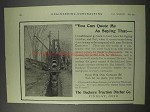 1910 Buckey Traction Ditcher Co. Excavator Ad