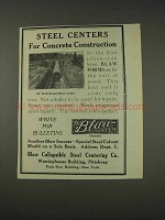 1910 Blaw Collapsible Steel Centering Co. Ad