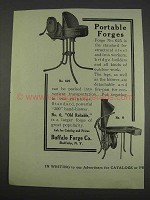1911 Buffalo Forge Co. Portable Forges Ad - No. 625 & 0
