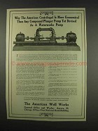 1913 The American Well Works Ad - Centrifugal