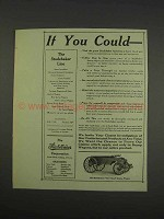 1913 Studebakers New Ideal Dump wagon Ad - If You Could