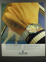 1983 Corum Admiral's Cup Watch Ad