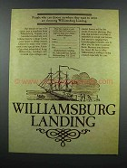 1983 Williamsburg Landing Ad - Want to Retire