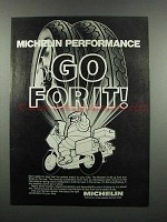 1983 Michelin A-48 and M-48 Motorcycle Tires Ad