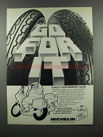 1983 Michelin A-48 & M-48 Motorcycle Tires - Go For It
