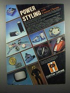 1983 Custom Chrome Motorcycle Accessories Ad - Power