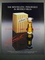 1983 Giorgio Perfume Ad - Best-Selling in Beverly Hills