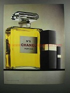 1983 Chanel No. 5 Perfume Ad