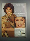 1983 Cover Girl MoistureWear Ad - Stefanie Powers