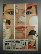 1983 Cover Girl MakeUpMates Ad - Christie Brinkley