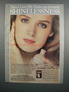 1983 Corn Silk Oil Absorbent Liquid Make-up Ad