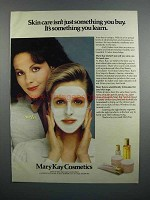 1983 Mary Kay Skin Care Products Ad - You Learn