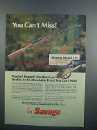 1983 Savage Stevens Model 311 Double Barrel Shotgun Ad