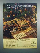 1983 Peters Remington Collectible Calendars Ad