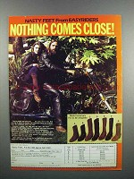 1983 Chippewa Nasty Feet Boots Ad - Nothing Close