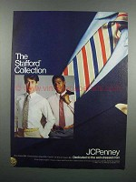 1983 JCPenney Blue Blazer, Oxford, Ties and Slacks Ad