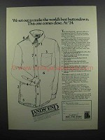 1983 lands' End Oxford Buttondown Shirts Ad