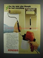 1983 Krebs Spray-N-Roll #25 Ad - Thought He Had