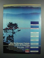 1983 Martin-Senour Paints Ad - Color of America