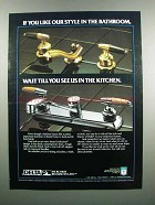 1983 Delta Award Collection Faucets Ad - Our Style