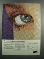 1983 3M Matchprint System Ad - Color the Truth