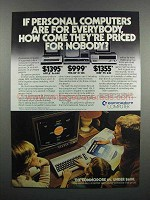 1983 Commodore 64 Computer Ad - For Everybody