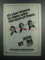 1983 Hearst Weekend with the Stars Ad - John Ritter