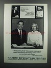 1983 CBS Morning News Ad - Bill Kurtis, Diane Sawyer