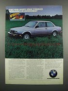 1983 BMW 318i Car Ad - Symbolize Intelligence