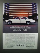 1983 Jaguar XJ6 Car Ad - Bred to Be Best