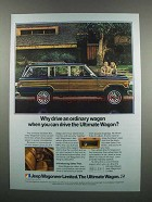 1983 Jeep Wagoneer Ad - Why Drive Ordinary Wagon