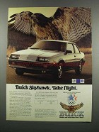 1983 Buick Skyhawk Ad - Take Flight