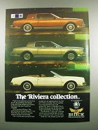1983 Buick Riviera, T Type and Convertible Car Ad