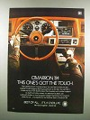 1984 Cadillac Cimarron Ad - This One's Got the Touch