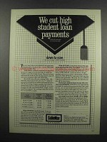 1983 Sallie Mae Student Loans Ad - We Cut Payments