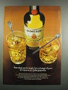 1983 Jameson Irish Whiskey Ad - Change of Pace